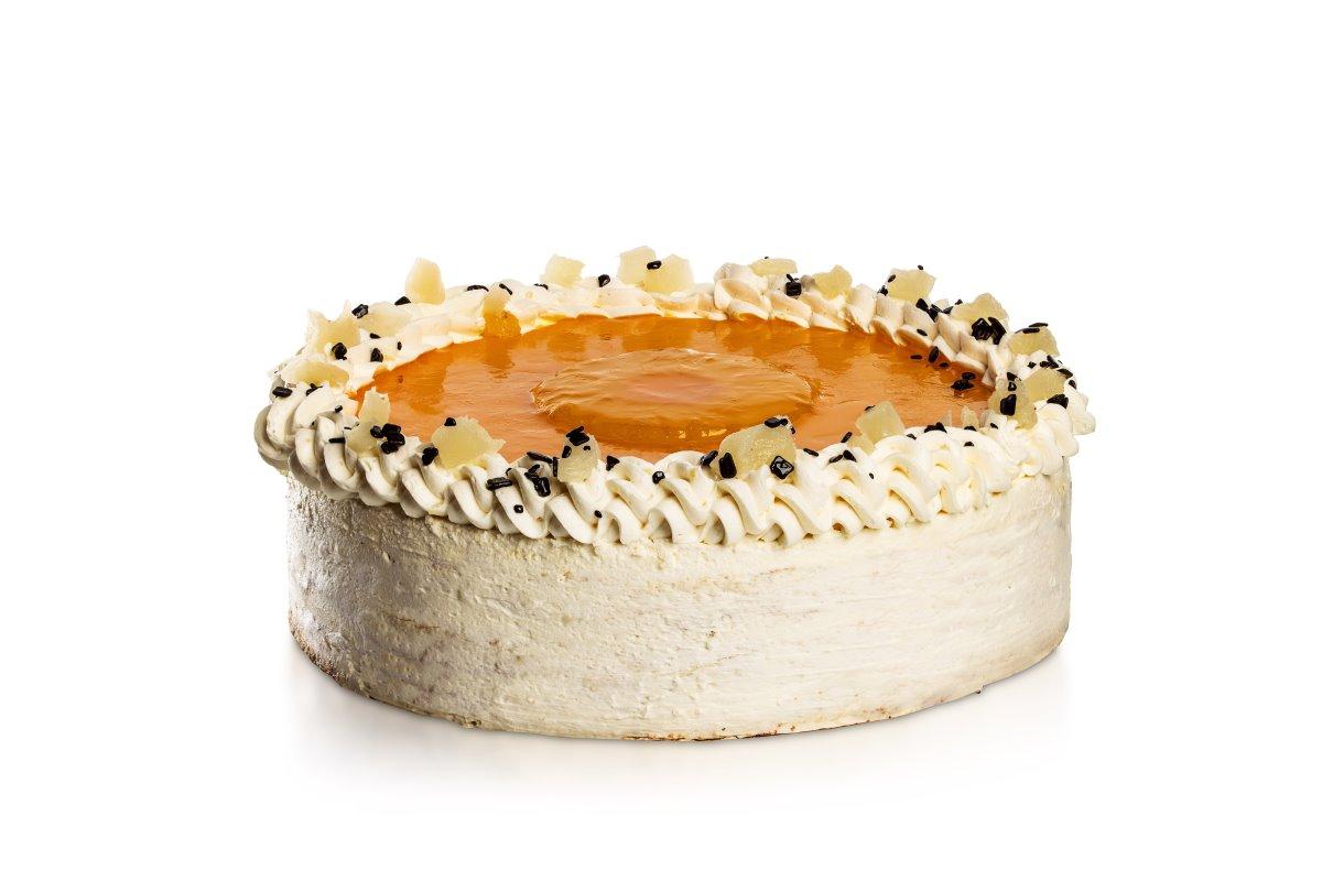 Ananasovo-máslový dort