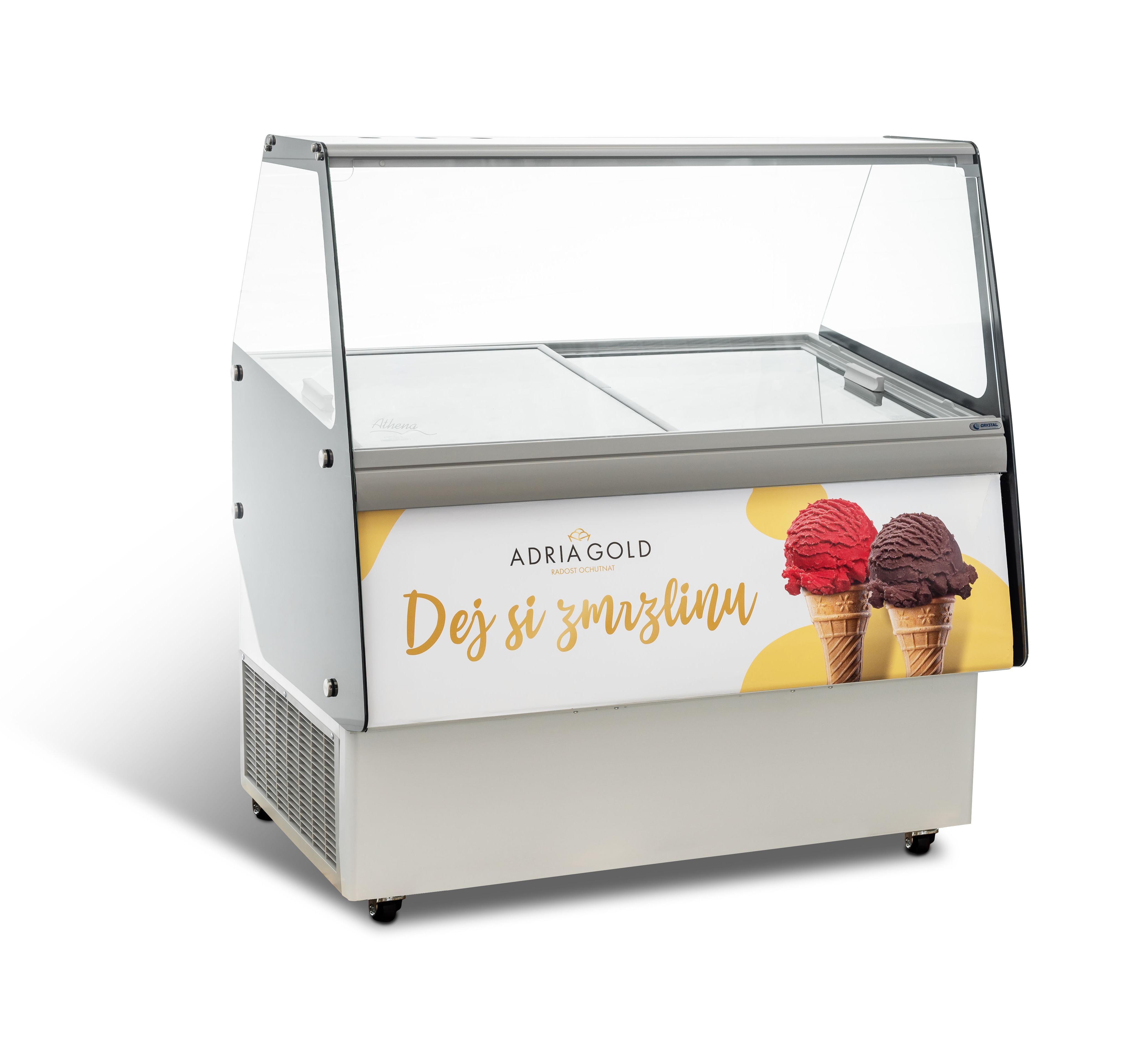 prodej točené zmrzliny